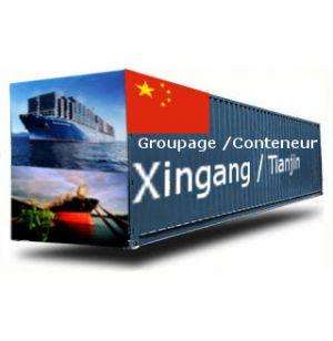 CHINE-Xingang / Tianjin depuis la France GROUPAGE MARITIME