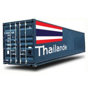 THAILANDE depuis la France GROUPAGE MARITIME