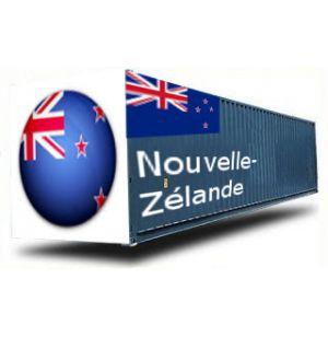 NOUVELLE-ZELANDE depuis la France GROUPAGE MARITIME