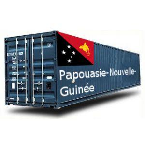 PAPOUASIE NOUVELLE GUINEE depuis la France GROUPAGE MARITIME