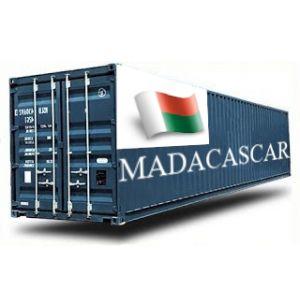 MADAGASCAR depuis la France GROUPAGE MARITIME